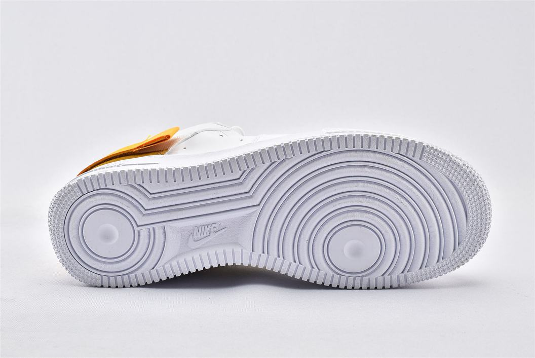 Nike Air Force 1 Type White Gold 6