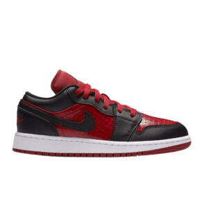Nike Air Jordan 1 Low BG Gym Red Black