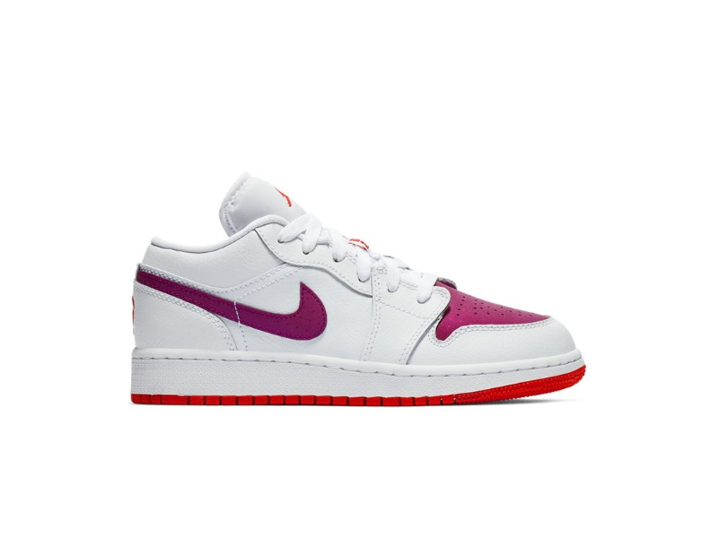 Nike Air Jordan 1 Low GS White Berry
