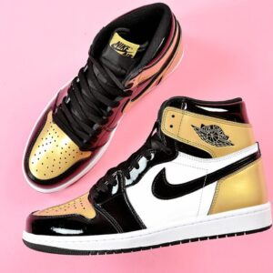 Nike Air Jordan 1 Retro High OG NRG Gold Toe 1