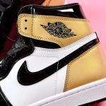 Nike Air Jordan 1 Retro High OG NRG Gold Toe 11