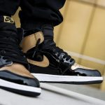 Nike Air Jordan 1 Retro High OG NRG Gold Toe 16