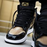 Nike Air Jordan 1 Retro High OG NRG Gold Toe 18