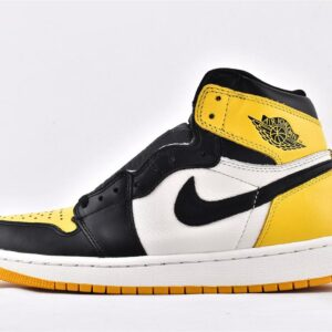 Nike Air Jordan 1 Retro High OG Yellow Toe 1