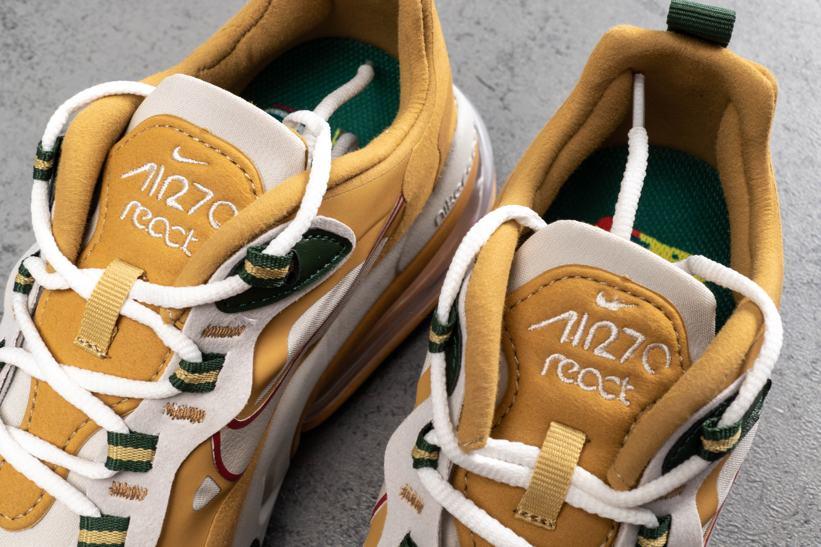 Nike Air Max 270 React Reggae 3