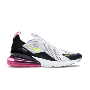 Nike Air Max 270 White Black Fuchsia Volt