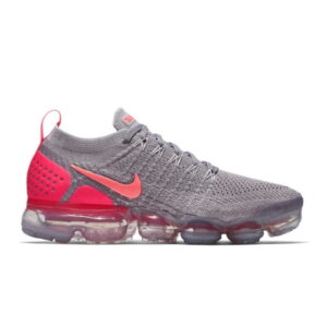 Nike Air VaporMax 2 Atmosphere Grey Crimson Pulse W