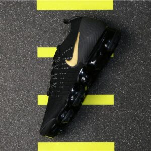 Nike Air VaporMax 2 Black Metallic Gold W 1