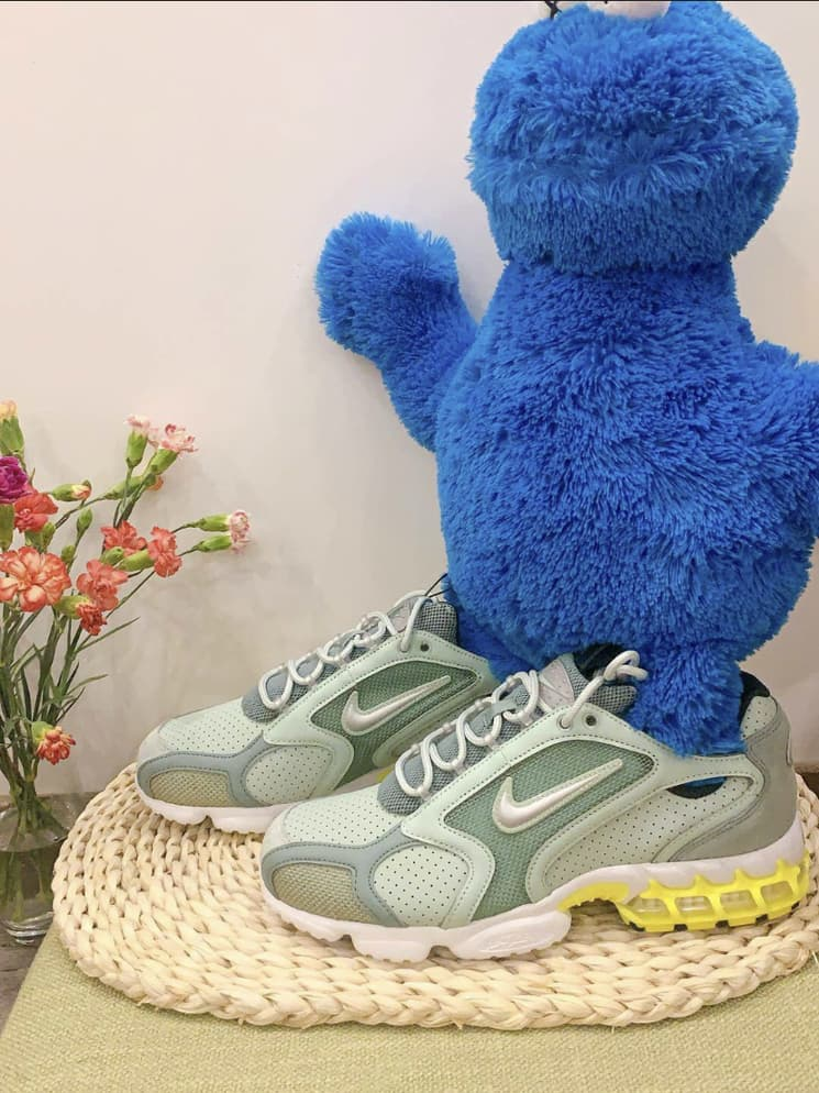 Nike Air Zoom Spiridon Cage 2 Pistachio Frost 8