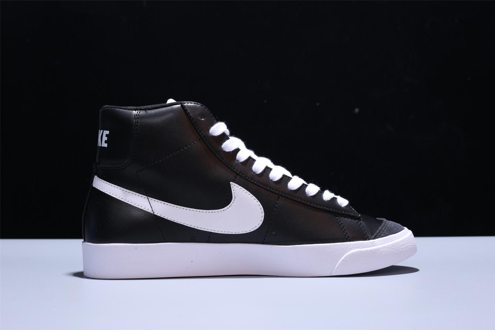 Nike Blazer Mid 77 Vintage Black Canvas 5