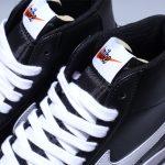 Nike Blazer Mid 77 Vintage Black Canvas 7