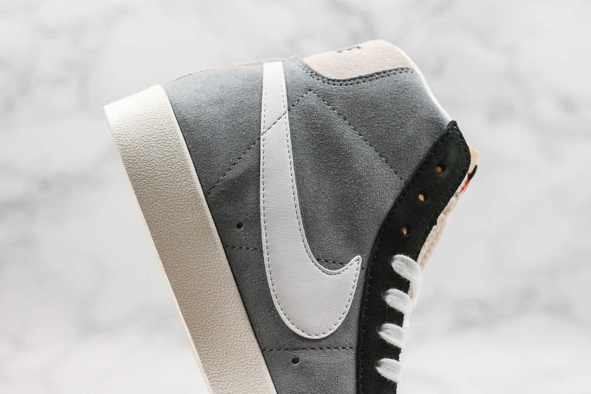 Nike Blazer Mid 77 Vintage Cool Grey White Black 6