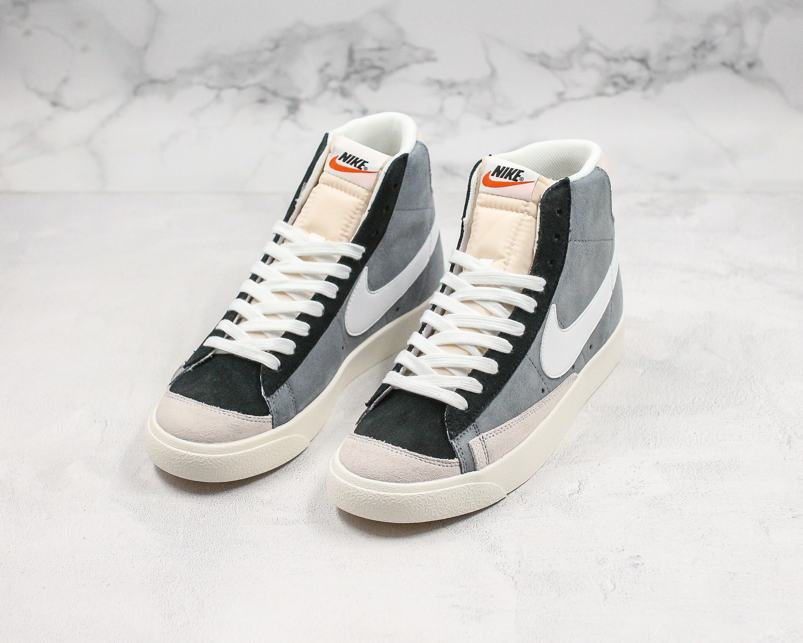 Nike Blazer Mid 77 Vintage Cool Grey White Black 7