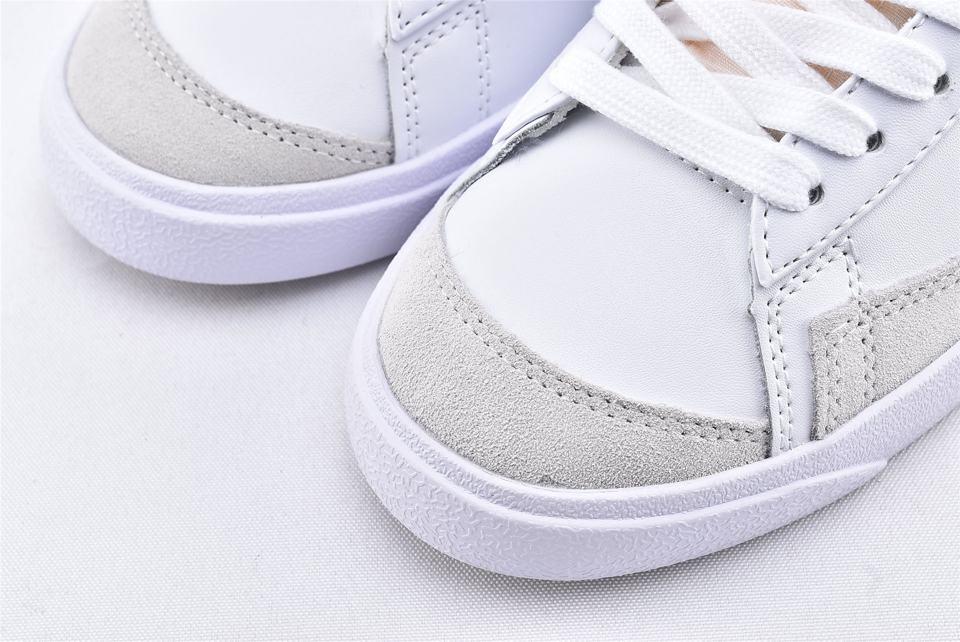Nike Blazer Mid 77 Vintage White Black 3
