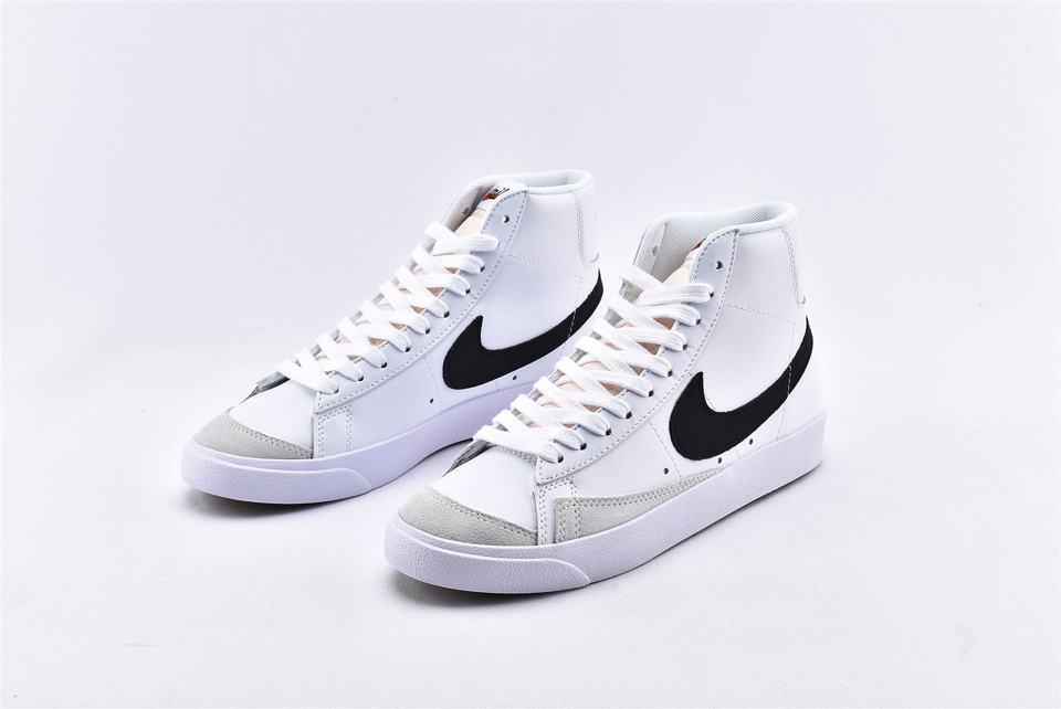 Nike Blazer Mid 77 Vintage White Black 5