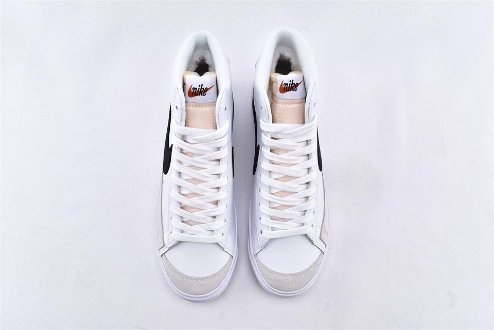 Nike Blazer Mid 77 Vintage White Black 6