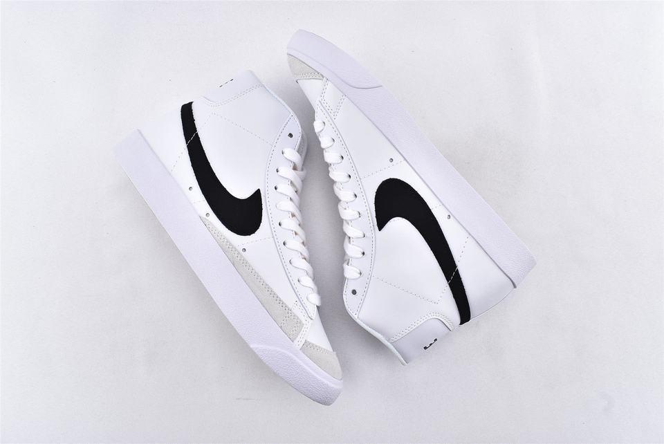 Nike Blazer Mid 77 Vintage White Black 7