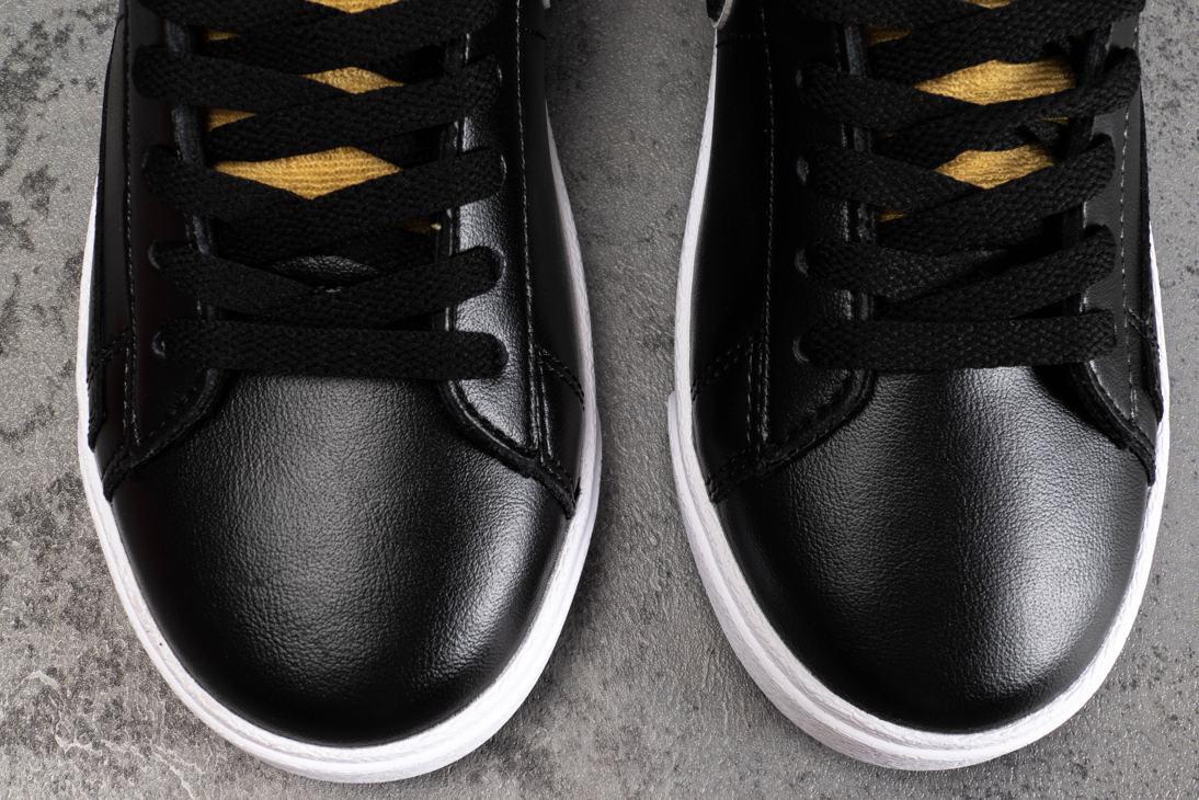 Nike Blazer Mid Black Wheat Gold W 4
