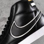 Nike Blazer Mid Black Wheat Gold W 5