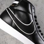 Nike Blazer Mid Black Wheat Gold W 8