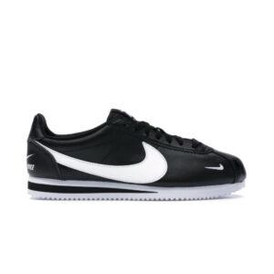 Nike Classic Cortez Mini Swoosh Black White