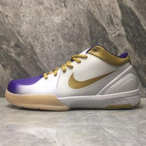 Nike Kobe 4 MLK Gold 1