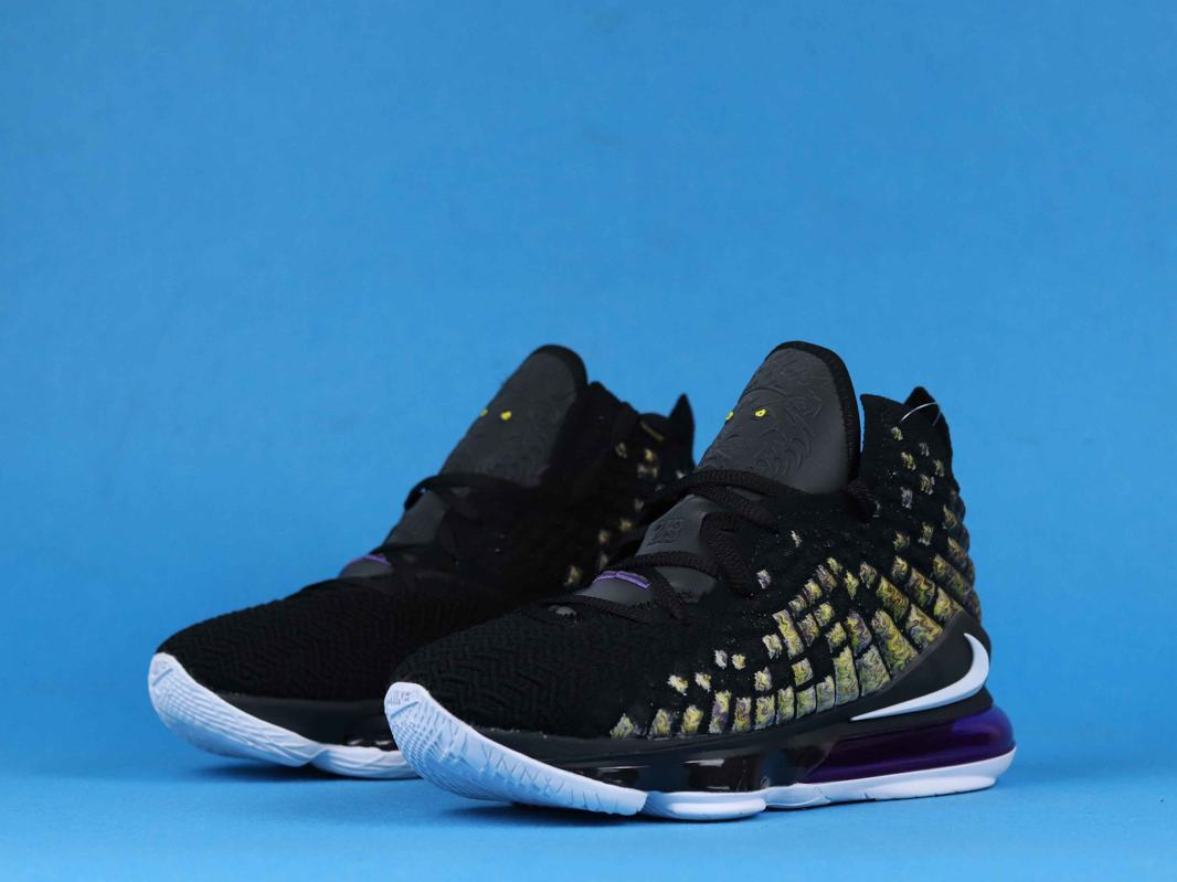 Nike LeBron 17 Lakers 7