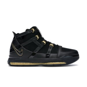 Nike LeBron 3 Black Gold 2018