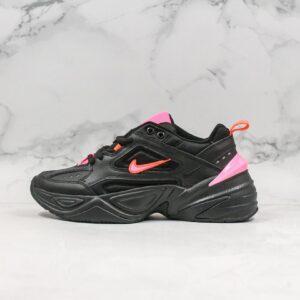 Nike M2K Tekno Black Hot Pink 1