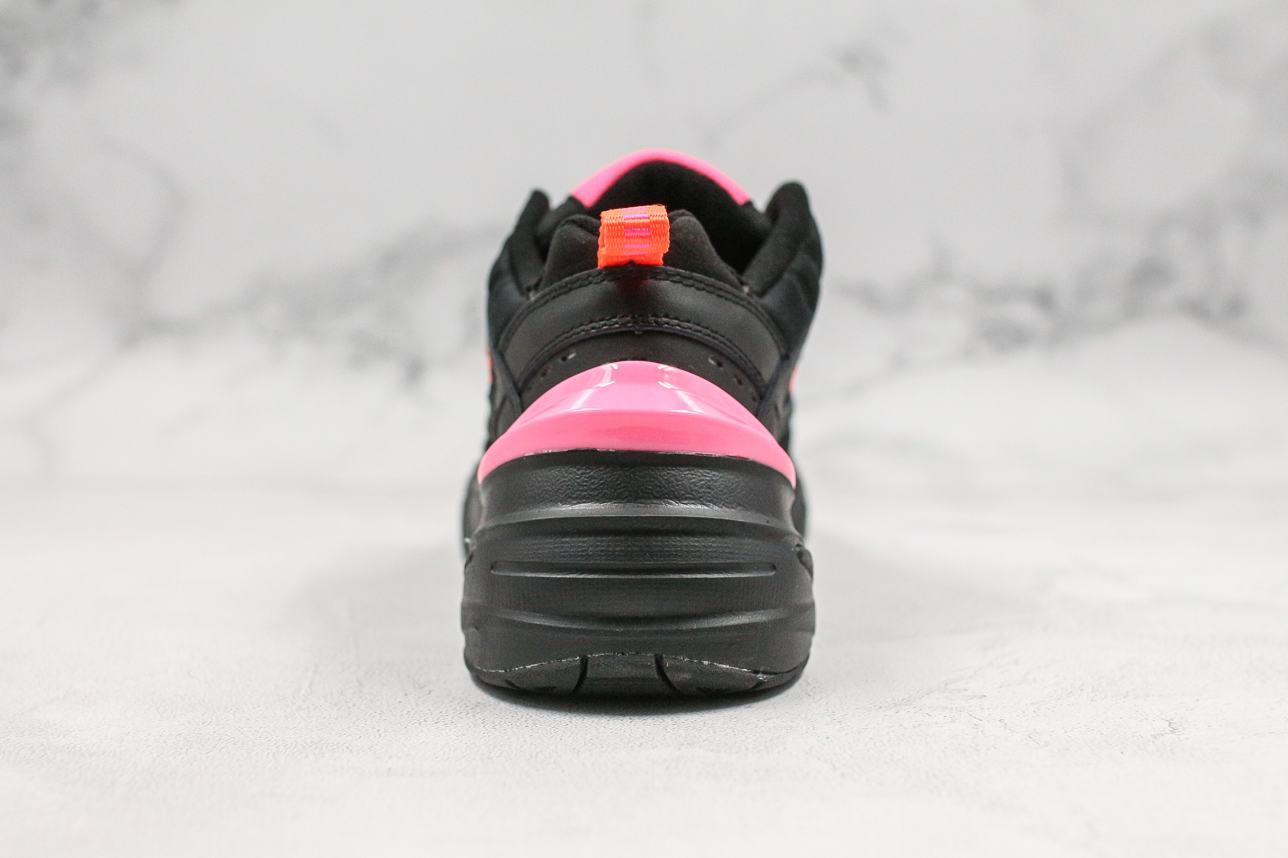 Nike M2K Tekno Black Hot Pink 2