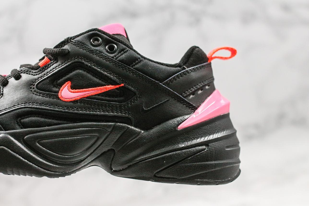 Nike M2K Tekno Black Hot Pink 4