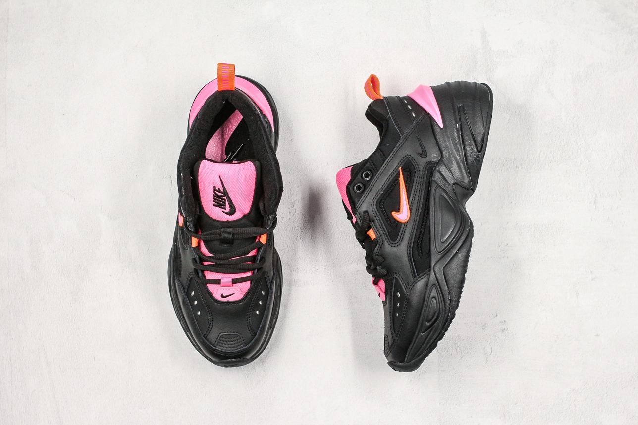 Nike M2K Tekno Black Hot Pink 8