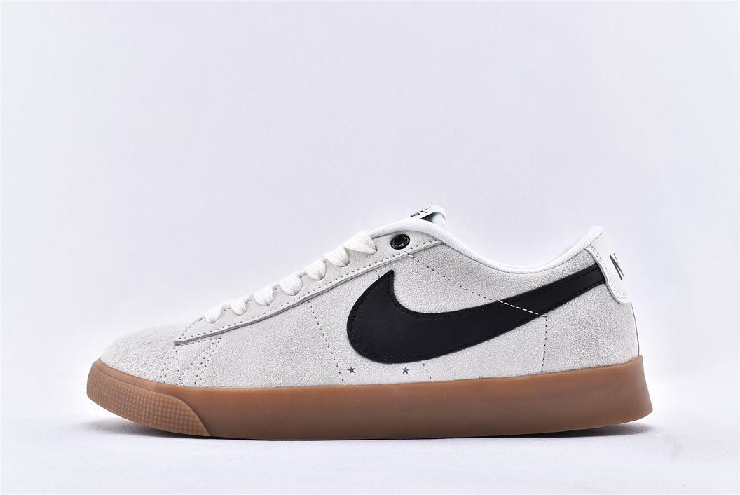 Nike SB Blazer Low GT Ivory Black Gum 1