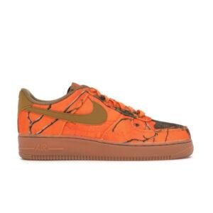 Nike Realtree x Air Force 1 Low Orange Camo