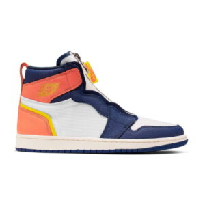 Nike Wmns Air Jordan 1 High Zip Blue Void Citron