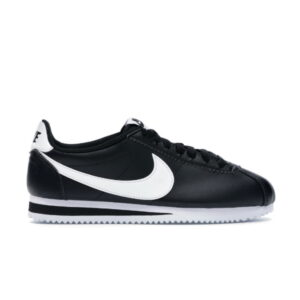 Nike Wmns Classic Cortez Leather Black White