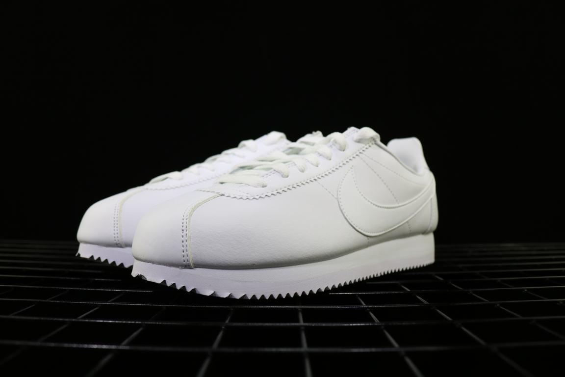 Nike Wmns Classic Cortez Leather White 4