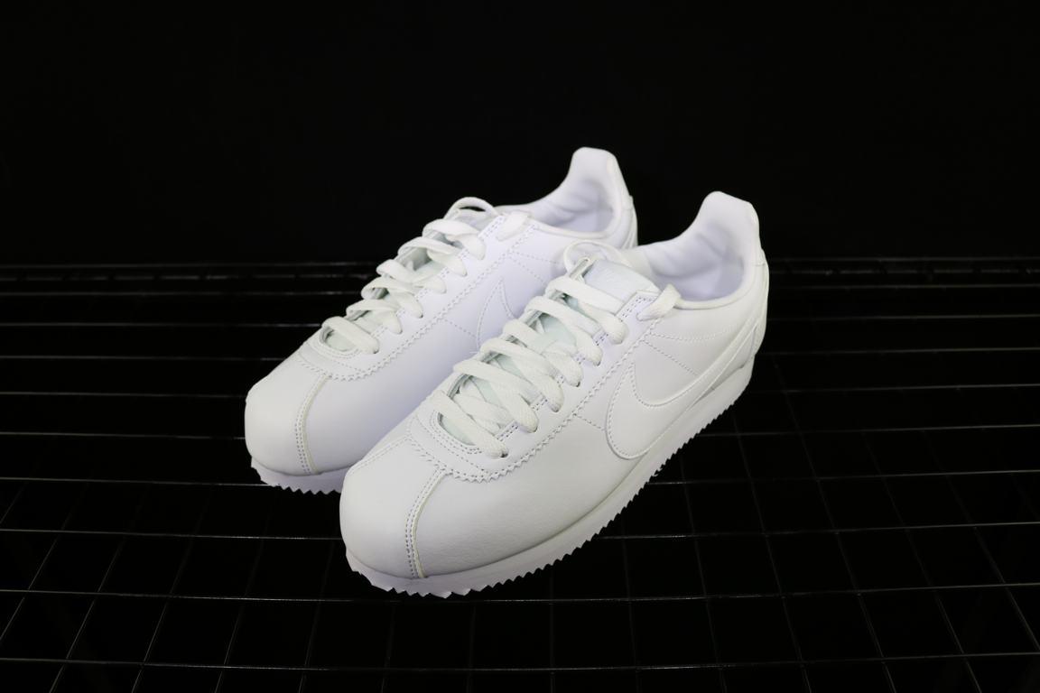 Nike Wmns Classic Cortez Leather White 5
