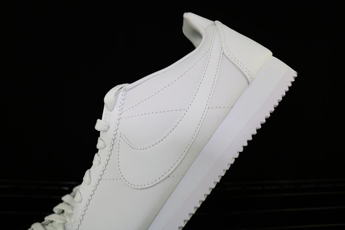 Nike Wmns Classic Cortez Leather White 8