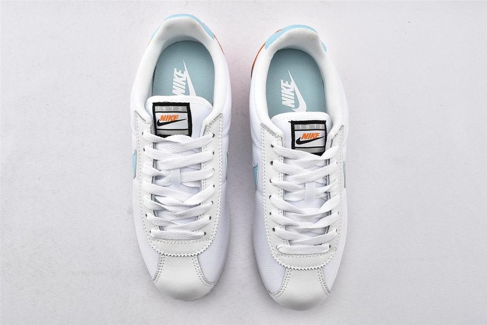 Nike Wmns Classic Cortez Premium Light Aqua 6