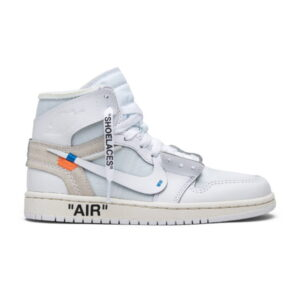 OFF WHITE x Air Jordan 1 Retro High OG BG White 2018