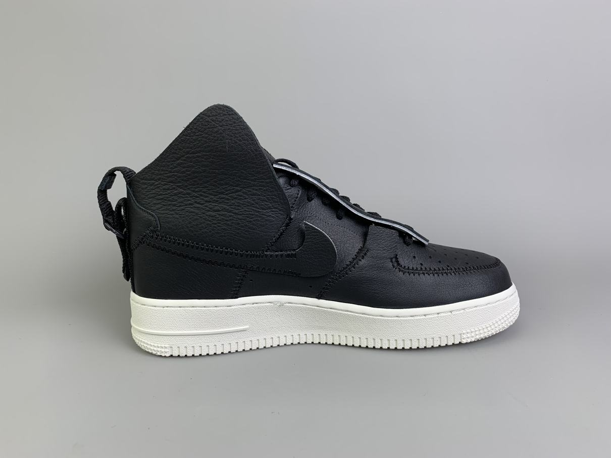 PSNY x Air Force 1 High Black 3