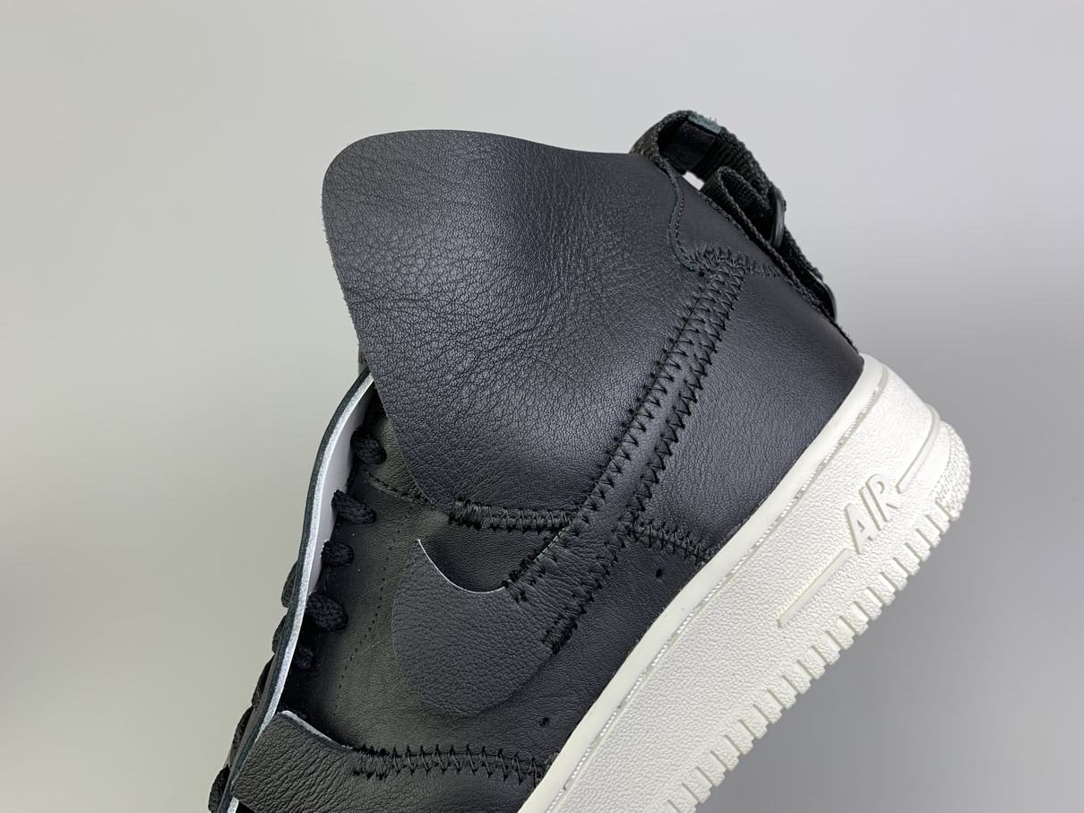 PSNY x Air Force 1 High Black 8