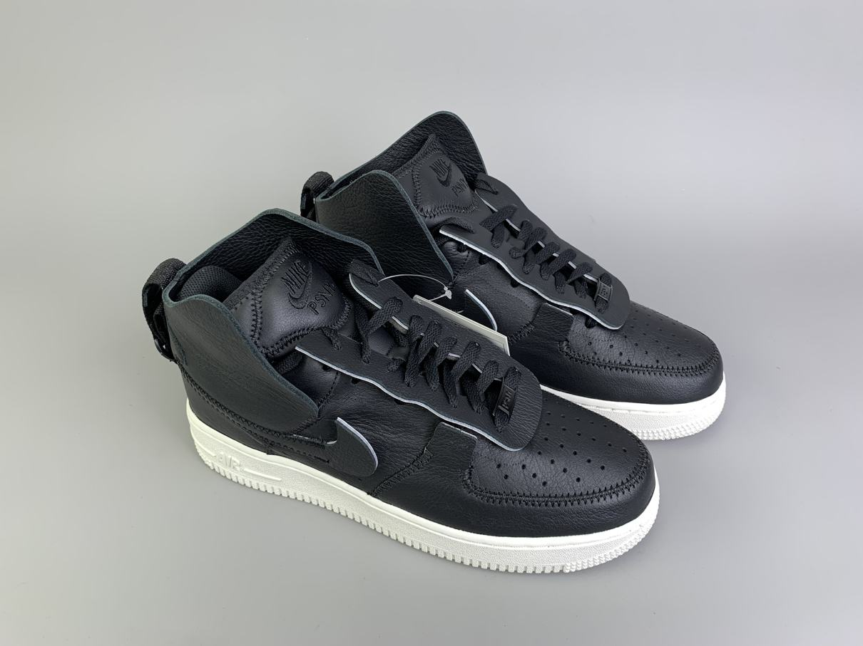 PSNY x Air Force 1 High Black 9