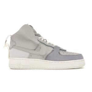 PSNY x Air Force 1 High Matte Silver