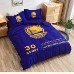 Postelnoe belyo Golden State Warriors Curry 30 Blue 1