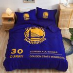 Postelnoe belyo Golden State Warriors Curry 30 Blue