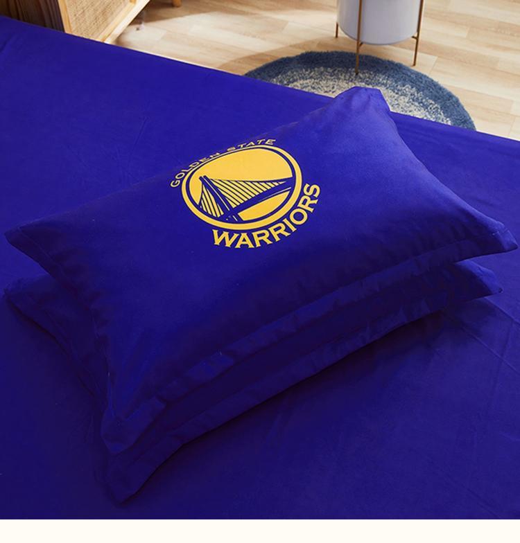 Postelnoe belyo Golden State Warriors Curry 30 Blue 4