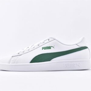 Puma Smash V2 White Green 1