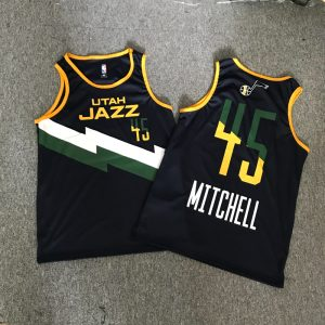 Slamble 2020 Utah Jazz Black 45